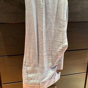 Pants - Light blue linen trousers